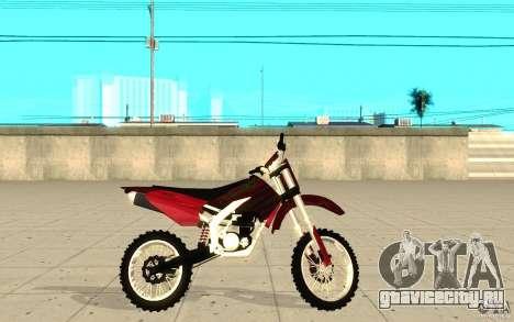 GTAIV Sanchez для GTA San Andreas вид слева