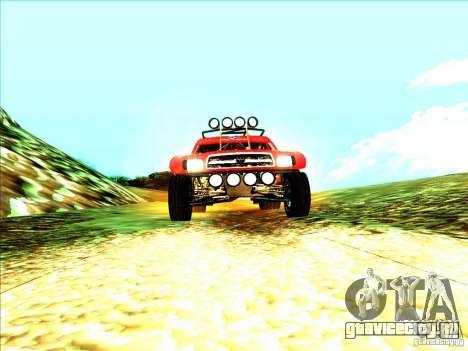 Toyota Tundra Rally для GTA San Andreas вид справа