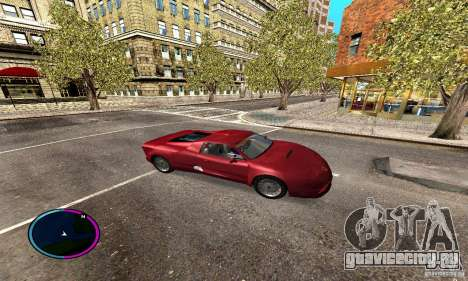Axis Piranha Version II для GTA San Andreas