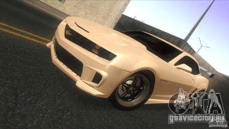 Chevrolet Camaro SS Dr Pepper Edition для GTA San Andreas вид слева
