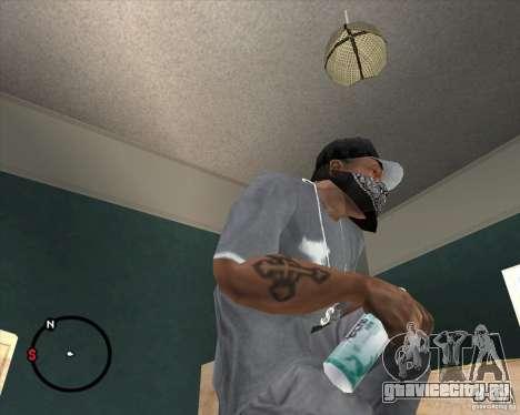 Rexona4Men Deodorant для GTA San Andreas второй скриншот
