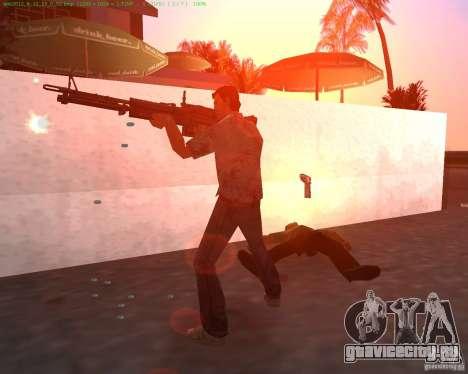 Новый M-60 для GTA Vice City второй скриншот