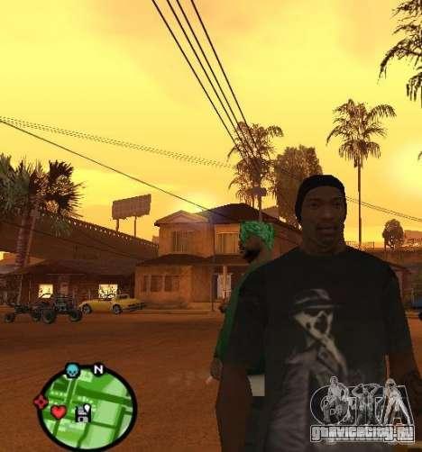 Футболка Watchmen Rorschach для GTA San Andreas второй скриншот