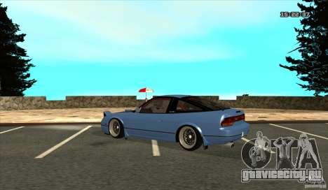 Nissan 240SX JDM для GTA San Andreas вид справа