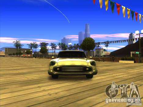 Glendale - Oceanic для GTA San Andreas вид сзади