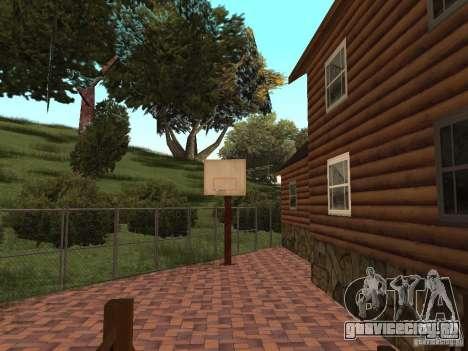 Новая Вилла для CJ для GTA San Andreas девятый скриншот