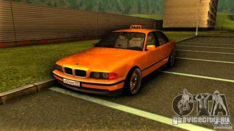 BMW 730i Taxi для GTA San Andreas