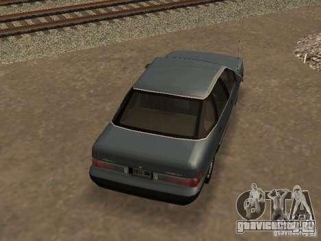 Mercury Sable GS 1989 для GTA San Andreas вид изнутри