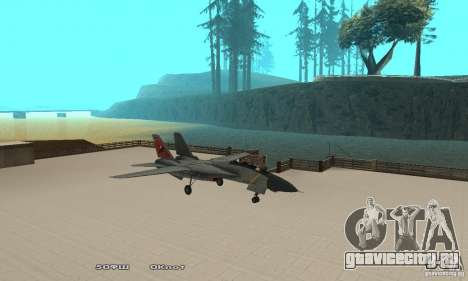 F14W Super Weirdest Tomcat Skin 2 для GTA San Andreas