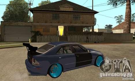 Lexus IS300 для GTA San Andreas