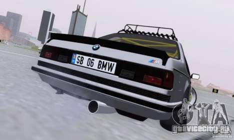 BMW M635CSi Stanced для GTA San Andreas вид справа