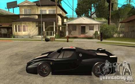 Ferrari FXX 2005 для GTA San Andreas вид сзади слева
