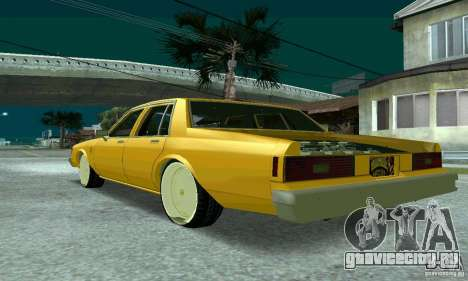 Chevrolet Impala 1977 Lowrider для GTA San Andreas вид слева