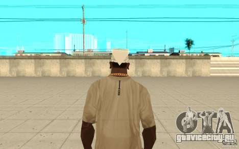 Бандана white для GTA San Andreas третий скриншот
