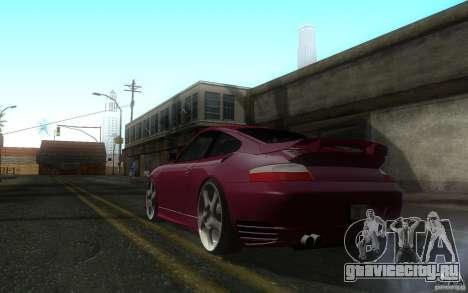Ruf R-Turbo для GTA San Andreas вид сзади слева