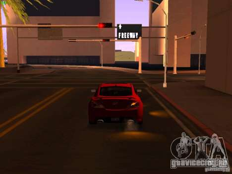 Hyundai Genesis Coupé 3.8 Track V1.0 для GTA San Andreas вид сбоку