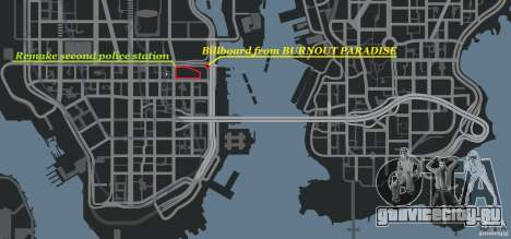Remake second police station для GTA 4 девятый скриншот