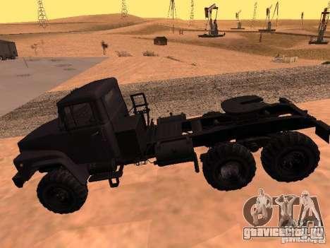 КрАЗ 260V для GTA San Andreas вид сзади