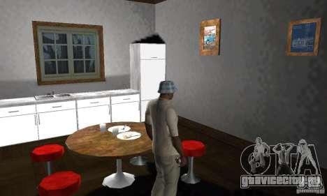 Новые интерьеры безопасных домов для GTA San Andreas девятый скриншот
