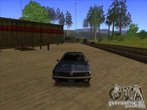 ENBseies v0.075 для слабых компьютеров для GTA San Andreas третий скриншот