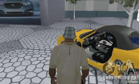 Porsche Boxster для GTA San Andreas вид сзади