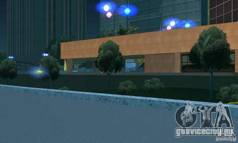 Синий цвет фар для GTA San Andreas третий скриншот