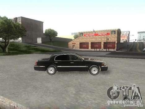 Lincoln Town car sedan для GTA San Andreas вид слева
