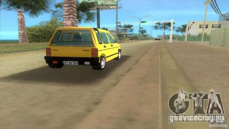 Daewoo Tico для GTA Vice City вид справа