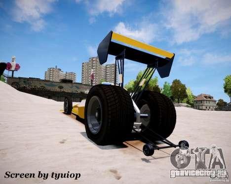 Ракетомобиль для GTA 4 вид справа