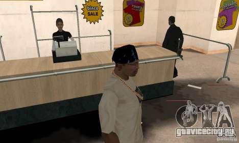 Бандана batman для GTA San Andreas второй скриншот