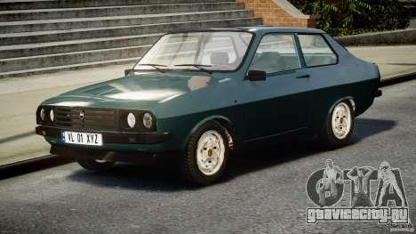 Dacia 1310 Sport v1.3 для GTA 4 вид сзади