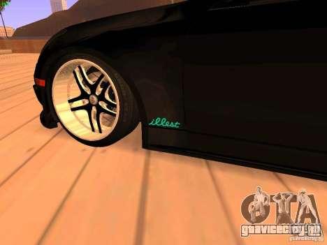 Infiniti G35 V.I.P для GTA San Andreas вид сзади