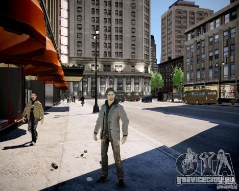 Alan Wake для GTA 4 второй скриншот