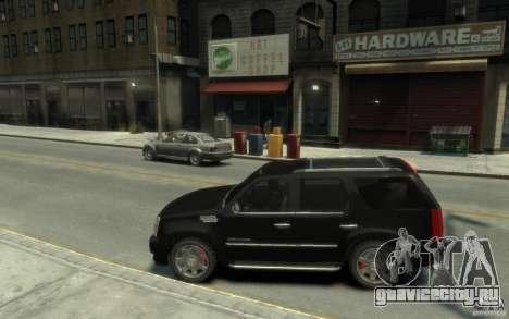 Cadillac Escalade v3 для GTA 4 вид слева