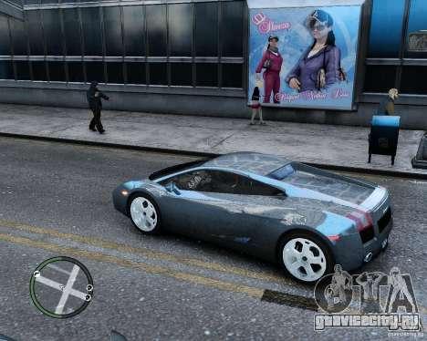 Lamborghini Gallardo 2005 для GTA 4 вид слева