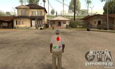 Gotcha Shirt для GTA San Andreas второй скриншот
