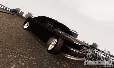 Mercedes-Benz 190E V2.0 для GTA San Andreas вид изнутри