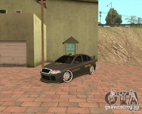 Skoda Octavia Taxi для GTA San Andreas