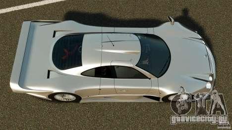 Mercedes-Benz CLK GTR AMG для GTA 4 вид справа