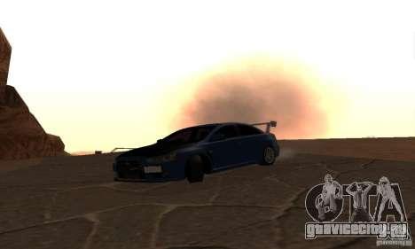 New Drift Zone для GTA San Andreas седьмой скриншот