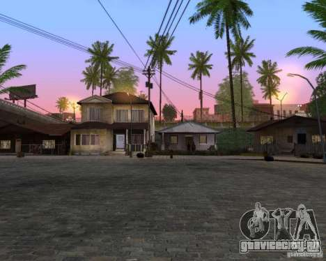 Real World ENBSeries v4.0 для GTA San Andreas третий скриншот