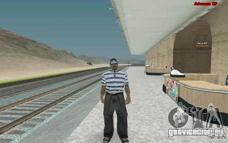 Новые скины для банды Varios Los Aztecas для GTA San Andreas третий скриншот