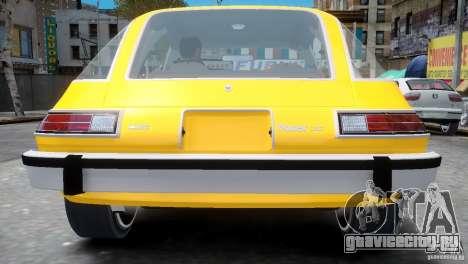 AMC Pacer 1977 v1.0 для GTA 4 вид сзади