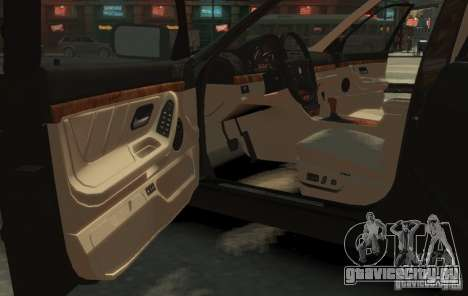 BMW 750i E38 1998 M-Packet для GTA 4 вид справа