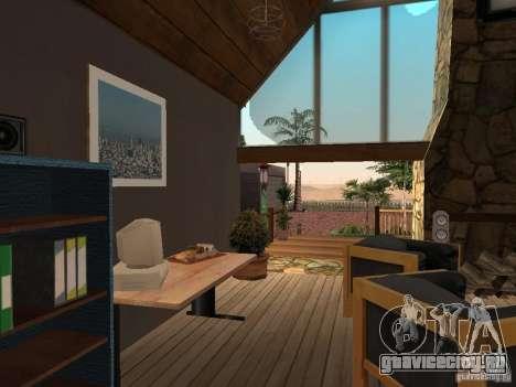 Новая Вилла для CJ для GTA San Andreas десятый скриншот