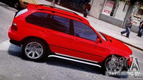 BMW X5 E53 v1.3 для GTA 4 вид снизу