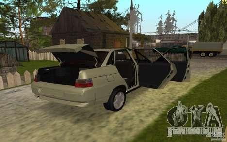 ВАЗ 21103 для GTA San Andreas вид сбоку
