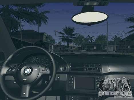 BMW M5 E39 2003 для GTA San Andreas вид сверху