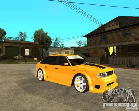 Москвич 2141 STR (HARD TUNING) для GTA San Andreas вид справа