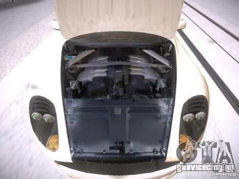 Aston Martn DB9 2008 для GTA San Andreas вид изнутри